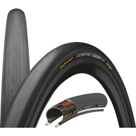 "Continental Contact Speed Bike Tire Double SafetySystem Breaker 28"" wire reflex black"